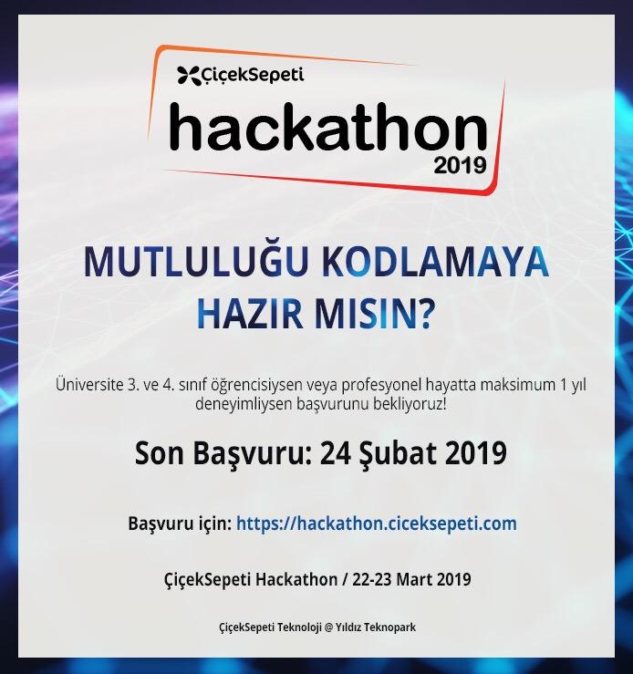 Çicek Sepeti Hackathon 2019